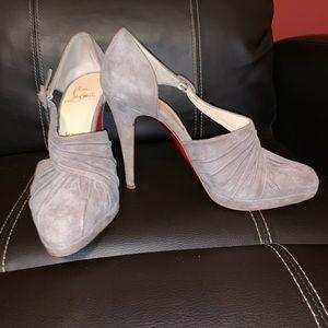 Suede Christian Louboutin heels - size 39.5